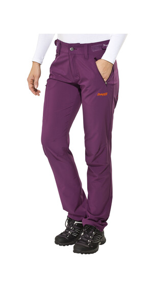 Bergans Torfinnstind Pant Lady plum/koi orange